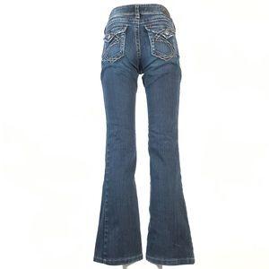 Silver suki surplus jeans 27x31 flap pocket